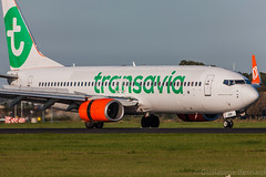 Boeing 737-800 Transavia PH-GUU cn 39607/4248 (Guillaume Besnard Aviation Photography) Tags: eham ams amsterdamschiphol schipholairport canoneos canonef500f4lisusm canoneos1dsmarkiii boeing737800 transavia phguu cn396074248 boeing737 prguu gol goltransportesaéreos