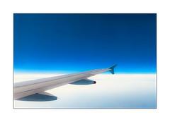 Vol AF6262 Blue Sky (jldum) Tags: ciel sky plane avion nuage clouds blue bleu art artist artistic iphone iphone7plus apple smartphone passionphotography