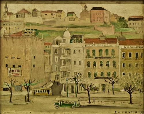 Lisbon (Restauradores) (1952) - Carlos Botelho (1899-1982)