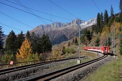 Sedrun/Bugnei - MGB NEAT Track (Kecko) Tags: 2017 kecko switzerland swiss schweiz graubünden graubuenden gr sedrun bugnei matterhorngotthardbahn railway railroad mgb eisenbahn bahn track schienen neat swissphoto geotagged geo:lat=46681610 geo:lon=8795000