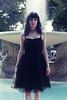 Shy beauty in a black dress :3 (Riccardo Trevisan) Tags: fontana abito dress blackdress timida shy