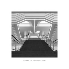 ludwig (MvMiddendorf) Tags: museum art cologne ludwig bw sonya6000 architecture staircase