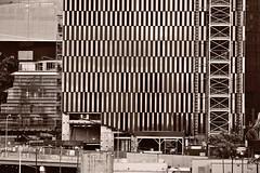 Geometries: 15 Hudson Yards lower facade (sjnnyny) Tags: 15hudsonyards 910fttall88floorscondos dillerscofidiorenfro rockwellgroup grid facade nyc manhattan stevenj sjnnyny sonya6000 sonysel55210kitzoom55210f4563 architectural construction westside viewfromhighline