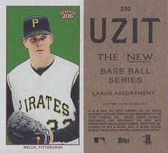 2002 / 2003 - Topps 206 Mini Baseball Card / Series 3 / Uzit - KIP WELLS #330 (Pitcher) (Pittsburgh Pirates) (Baseball Autographs Football Coins) Tags: series3 2002 2003 topps 206 topps206 uzit mini card minicard baseballcard 2002topps206 kipwells pittsburghpirates pitcher