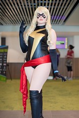 Ms. Marvel (l plater) Tags: msmarvel captainmarvel marvelcomics 2017ozcomiccon darlingharbour sydney cosplay