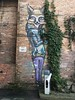 The Foxy and the Ivy (Roblawol) Tags: russia fareast vladivostok asia art artistic streetart graffiti animal fox urbane colorful colors mural