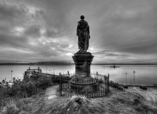 The Statue of Heilan Mary, Dunoon, Cowal Peninsula