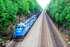 CR 6660 at Cassandra, PA (dl109) Tags: conrail sd452