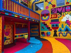 Patio Party (Pennan_Brae) Tags: yvr publicart 604 vancity streetartist streetart mural vancouver streetartistry murals