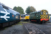 D4100, 50049 & 50031 at Kidderminster (28-10-2017) (blackwatch55013) Tags: 09012 d4100 class09 svr dickhardy severnvalleyrailway kidderminster class50 50049 50031
