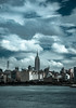 Midtown Skyline, NYC (Katrina Wright) Tags: dsc59842 newyork midtown nyc empirestatebuilding landscape cityskyline clouds sliderssunday coldtone