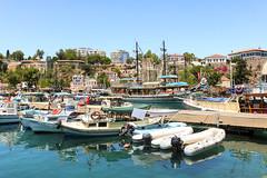 Antalya Limanı (Akcan PhotoGraphy) Tags: antalya liman harbor tekne boat deniz akdeniz turkey