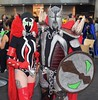 DSC_0367 (Randsom) Tags: newyorkcomiccon 2017 nyc convention october5 nycc comic book con costume newyorkcity october7 cosplay spawn lady black red spandex duo couple matchingcostumes javits october6