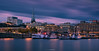 Stockholm (Antoni Figueras) Tags: sweden stockholm boats bluehour night longexposure reflections