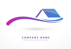 house or home company logo design (Azwad111) Tags: logo abstract corporate company identity symbol icon color colorful style creative template sign marketing branding advertising promotion modern shape element logotype vector business design concept illustration logodesign businesslogo logoicons abstractlogo app organization house home realestate