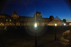 Paris (mademoisellelapiquante) Tags: louvre paris france arthistory art museedulouvre night pyramid