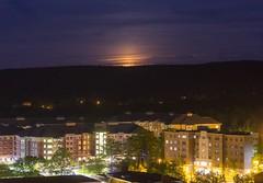Binghamton University Night Photography (BinghamtonUniversity) Tags: 2015 buildingsandfacilites night dickinson community reslife residentiallife mohawk ciw collegeinthewoods vestal ny usa