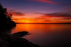 Long exposure sunset (corineouellet) Tags: