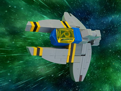 Classic Space Vic Viper (David Roberts 01341) Tags: lego classicspace vicviper nnovvember spaceship spacecraft scifi