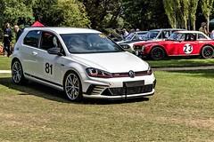 VW Gulf GTI Clubsport S returning to te Paddock (John Tif) Tags: 2017 crystalpalace vwgulfgticlubsports car motorspot
