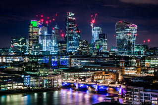 The City and Southwark Bridge