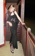 She's a Lady of the Night (Julie Bracken) Tags: 2011 cd tgurl feminized xdresser mature old tv portrait hair red fashion transvestite mini skirt transgender m2f mtf transsisters enfemme ginger party tranny trannie heels nylon julieb85 crossdressing crossdresser tgirl feminised kinky