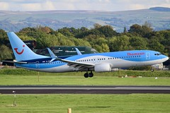 Goodbye Thomson, Hello TUI Airways... (Ben Cavers) Tags: thomsonairways tuiairways boeing7378k5wl boeing7378k5 boeing737800 boeing737 boeing 7378k5wl 7378k5 737800 737 thomsonairwaysboeing737 thomsonairways737 tuiairwaysboeing737 tuiairways737 gfdzr manchesterairport man egcc narrowbodyjet narrowbody passengerjet jet jetliner commercialairliner airliner commercialaviation aviation aircraft airplane plane cflzr