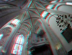 Domkerk Utrecht 3D GoPro (wim hoppenbrouwers) Tags: domkerk utrecht 3d gopro anaglyph stereo redcyan church orgel