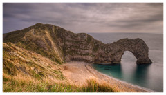Durdle Door (Kam Sanghera) Tags: door dorset hdr photomatix durdle canon eos 5d mark iii britain uk united kingdom is usm jurassic ef 20mm f2 lulworth ef20mm f28 limestone arch