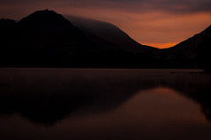 Lake District (mynameisblank!) Tags: lakedistrict uk nikon nikond300s water sunrise reflection clouds mountains nikond3oos travel alwaysmoving lightroom editedinlightroom manfrotto manfrottotripod manfrottobefree outside outdoors