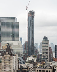 111 Murray Street Residential Tower (under construction), Tribeca, New York City (jag9889) Tags: 2017 20171014 aerialview architecture building civiccenter construction crane davidndinkinsmunicipalbuilding event house lowermanhattan manhattan manhattanboroughhall manhattanmunicipalbuilding municipalbuilding murray ny nyc newyork newyorkcity newyorkisopen ohny ohnyweekend openhouse openhousenewyork outdoor skyscraper street tribeca usa unitedstates unitedstatesofamerica jag9889 us