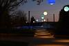 Blick auf den Waldensersteg (Niwi1) Tags: longtimeexposure night enz steg outdoor nacht langzeit waldensersteg mühlacker enzkreis