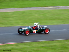 Stuart Wright - 1957 Cooper Mk11 (BenGPhotos) Tags: 2017 vscc vintage sports car club formula mallory park classic historic race racing motorsport autosport motor sport british green f3 formula3 formulathree 500 500cc stuart wright 1957 cooper mk11