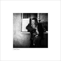 (Charlie Pragnell) Tags: streetphototgraphy streetportrait olympusuk olympusomd olympuseurope blackwhite blackandwhiteportraits squareformat street wwwcharlespragnellphotographynet