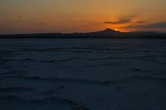 Larnaca Salt lake region (gavin.mccrory) Tags: cyprus europe water sun sunset nikon nikkor 35mm dslr photo larnaca larnaka sea sky mountain lake salt landscape beach dusk