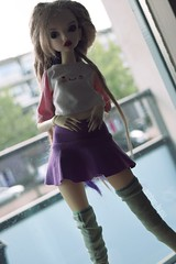 New clothes (Amberkyou) Tags: bjd abjd ball jointed doll emilia chteau bella dread dreads dreadlocks dreadwig dc