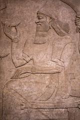 Ashurbanipal (ir0ny) Tags: london britishmuseum museum british uk history middleeast assyrian god ashurbanipal