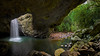 Natural Bridge Springbrook (Emanuel Papamanolis) Tags: challengegamewinner