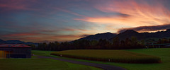 Hörnleberg/Schwarzwald 2017 Panorama (karlheinz klingbeil) Tags: ber hörnleberg schwarzwald südbaden sunrise sonnenaufgang panorama wald himmel wolken