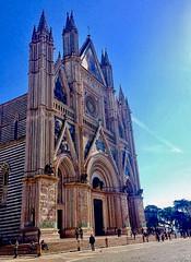 Duomo di Orvieto, Umbria, Italy. (Massimo Virgilio - Metapolitica) Tags: church people city art architecture italy umbria orvieto