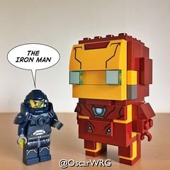 #LEGO_Galaxy_Patrol #LEGO #GoBrick #BrickHeadz #IronMan #Marvel (@OscarWRG) Tags: legogalaxypatrol lego gobrick brickheadz ironman marvel