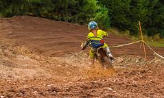 Headed Into The Turn (John Kocijanski) Tags: motorcycle motocross dirtbike vehicle race sport rider people canon70300mmllens canon7d