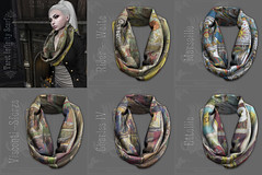 *pm* Tarot Infinity Scarf poster (the_innocence) Tags: pm papermoon occult spiritual mystical mysterious tarot tarotcards warm fall snuggle cozy scarf unisex season witch
