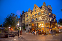After work chillout@Amsterdam (Tony.L Photography) Tags: sony ilce a7markii a7m2 a7ii sonya7m2 sonyilcea7m2 35mm fullframe zeiss fe1635 f4 za oss fe1635f4zaoss sonyfullframe sonyfullframelens fullframelens sony35mmfullframe sonyimages sonyblackmagic blackmagic sonyphotography netherlands amsterdam noordermarkt brouwersgracht long exposure longexposure citynight city night bluehour blue hour low light lowlight photography amsterdamriver river chillingamsterdam chilling bar chillout oldbuildings old buildings lights people bluesky intonight streetphotography nightphotography streetscape nightstreets