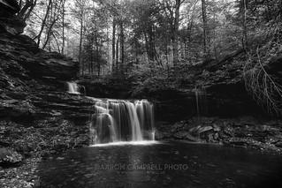 R.B. Ricketts Falls (closeup), 2017.10.14