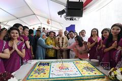 Majlis Rumah Terbuka Deepavali myPPP 2017. Little India, Brickfields, Kuala Lumpur.