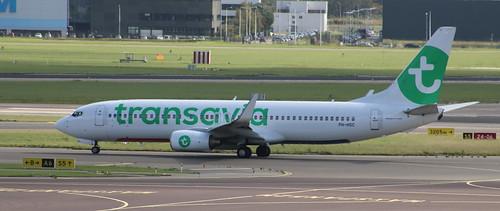 PH-HSC Boeing 737-8K2/W Transavia