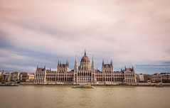 The Parliament (Vagelis Pikoulas) Tags: parliament budapest pest hungary travel landscape city cityscape clouds cloudy cloud sky river danube canon 6d tokina 1628mm boat autumn september 2017