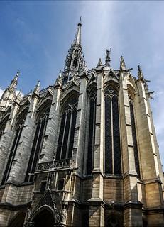 photo - Exterior, Sainte-Chapelle, Paris