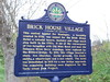 Brick House Village Historic Marker (jimmywayne) Tags: newjersey montague sussexcounty historic marker brickhouse village